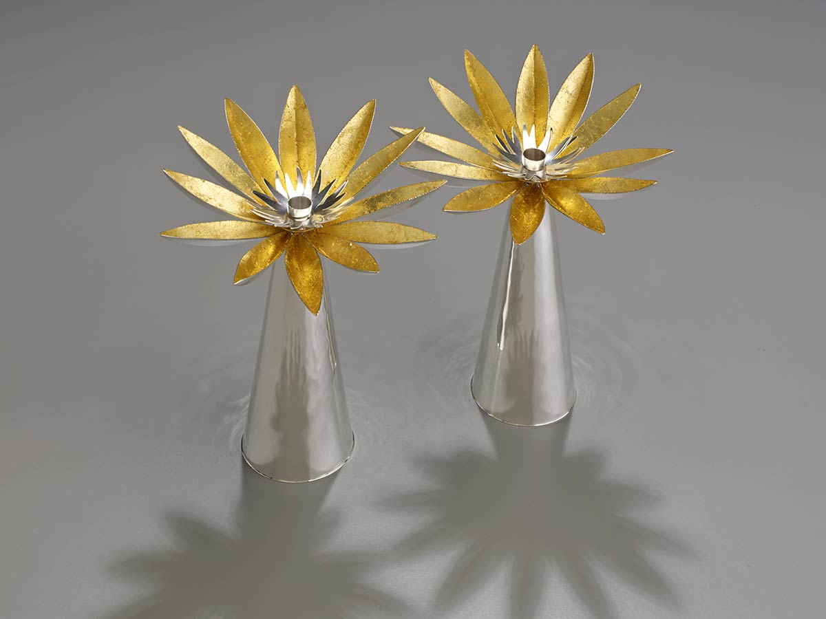 Black Eyed Susan Candle Holders