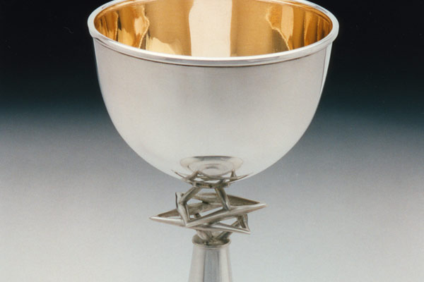 Floating Star Kiddush Cup